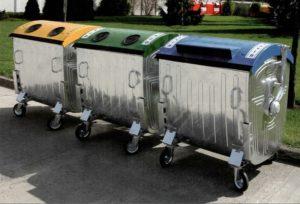 Замовлення контейнера для сміття у область