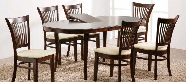Дерев'яні розсувні обідні столи та їх конструктивні особливості