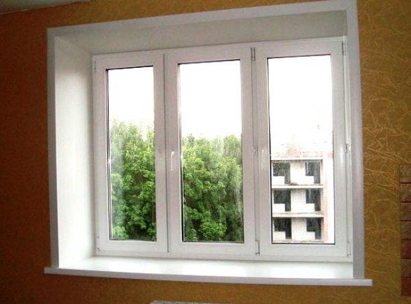 Як зробити укоси на вікнах