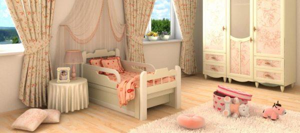 Розсувні ліжка в дитячу: меблі, яка росте разом з дитиною