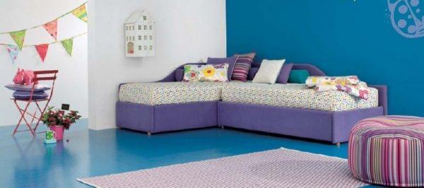 Дитячі кутові дивани — різноманітність рішень і вплив на інтер'єр