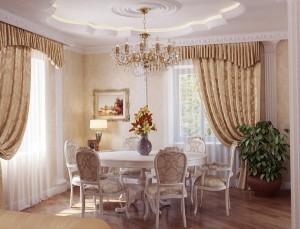 Інтер'єр кухні в стилі прованс — від масивних меблів до в'язаних серветок