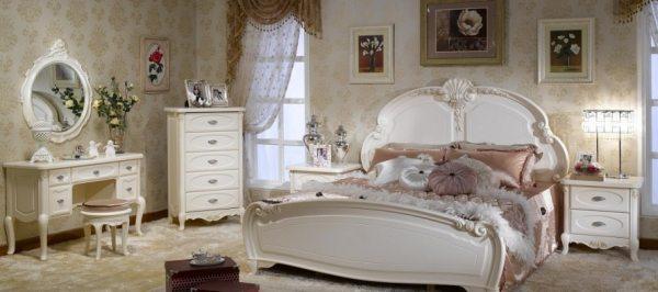 Спальня в стилі прованс – романтичний острів для закоханих