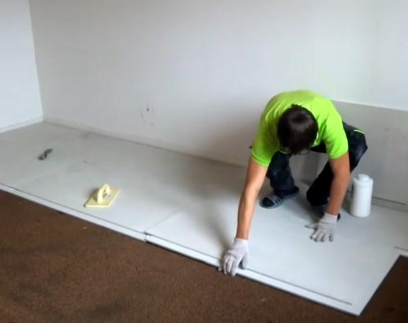 Суха стяжка для основи підлоги