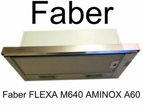 Огляд вбудованої витяжки Faber FLEXA M6/40 AM/INOX A60.