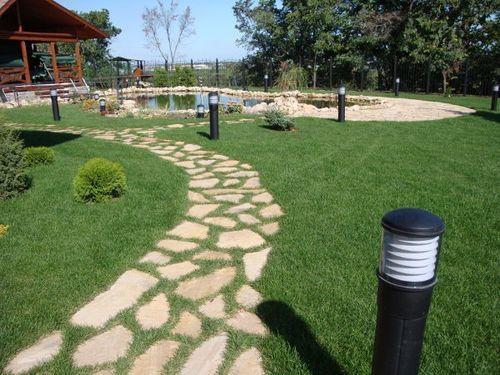 Садові доріжки як елемент ландшафтного дизайну