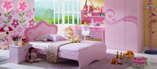 Дитячі меблі для дівчинки: функціональність і гармонія