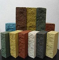 Кольорові облицювальні блоки