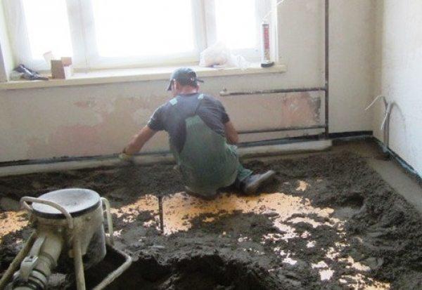 Робимо підлогу в домашніх умовах