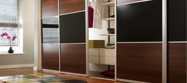 Вбудовані шафи-купе: зі смаком використовуємо кожен куточок квартири