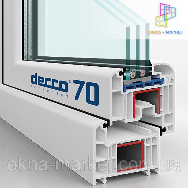 Вікна Decco – більше камер, менша ціна