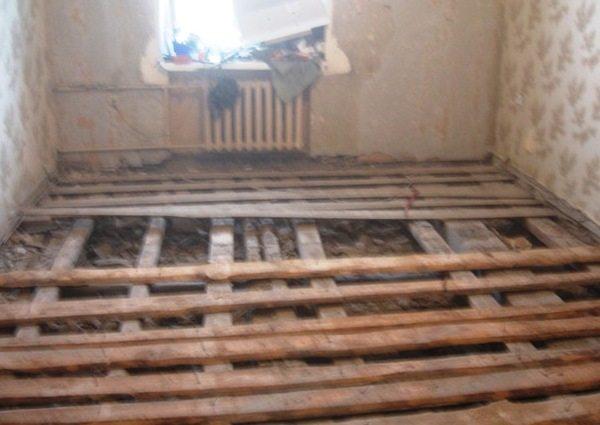 Ремонтуємо дерев'яна підлога своїми силами