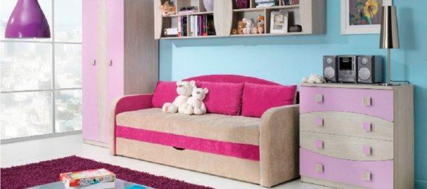 Дитячий диван-ліжко з бортиками — грамотна організація спального місця вашого маляти