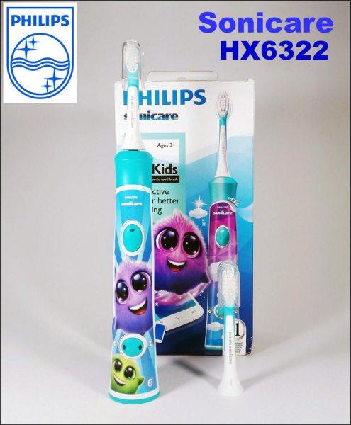 Огляд дитячої електричної зубної щітки Philips Sonicare For Kids HX6322 04. f4f30623da1d4