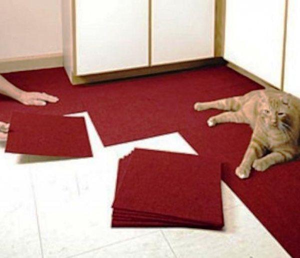 Як правильно укладати килимову плитку?