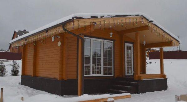 Будівництво лазні і будинків з термопрофілю