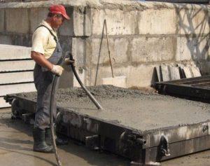 Вплив імпульсів при укладанні бетонної суміші