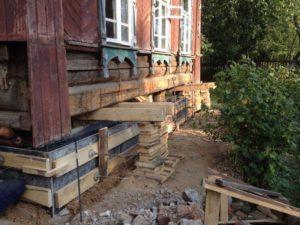 Фундамент будинку. Причини руйнування. Зміцнення
