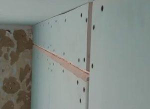Чим вирівняти стіни?