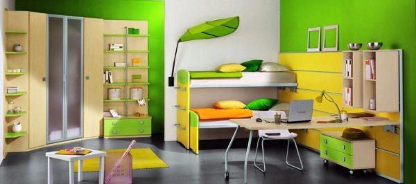 Шафи-купе для дитячої кімнати — особливості конструкції і дизайн