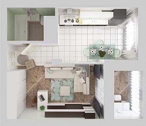Аспекти оформлення однокімнатної житлової квартири