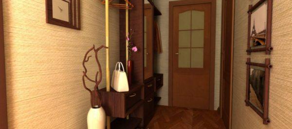 Передпокій для вузького коридору: як зробити хол стильним і зручним