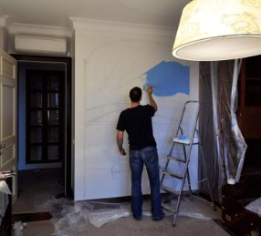 Готуємо стіни під фарбування