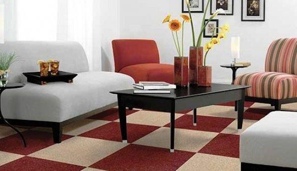 Килимова плитка для обробки підлоги