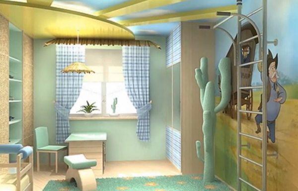 Дизайн дитячої втілюючи дитячі мрії