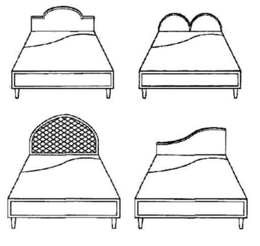 Оновлення дерев'яної ліжка: спинка своїми руками