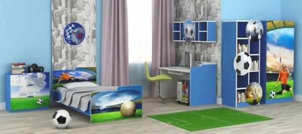 Дитячі меблі для хлопчика: територія ігри і пізнання