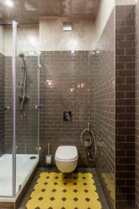 Дизайн ванної кімнати з душовою кабіною: особливості розподілу простору