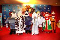 Кінозірки зібралися на прем'єрі мультфільму «Три богатиря і Морський цар». Фото
